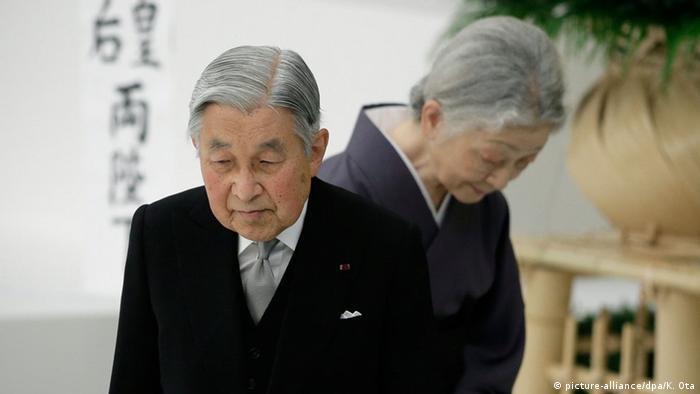 Japan Zeremonie 70 Jahre Kriegsende Kaiser Akihito