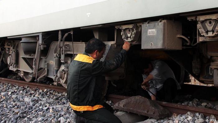 Accidente ferroviario en Irán (foto de archivo).
