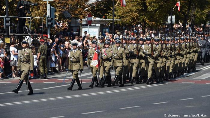 На військовому параді у Варшаві, 15 серпня