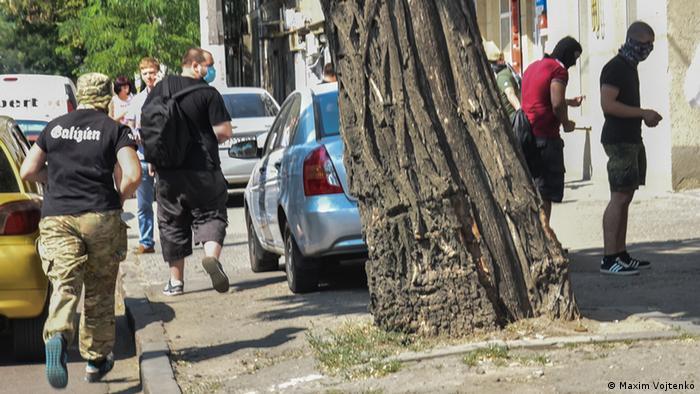 Після нападу на захід в рамках Одеса Прайд злочинці втікли з місця подій