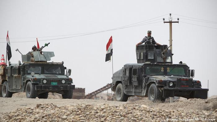 Iraki troops in Anbar province
