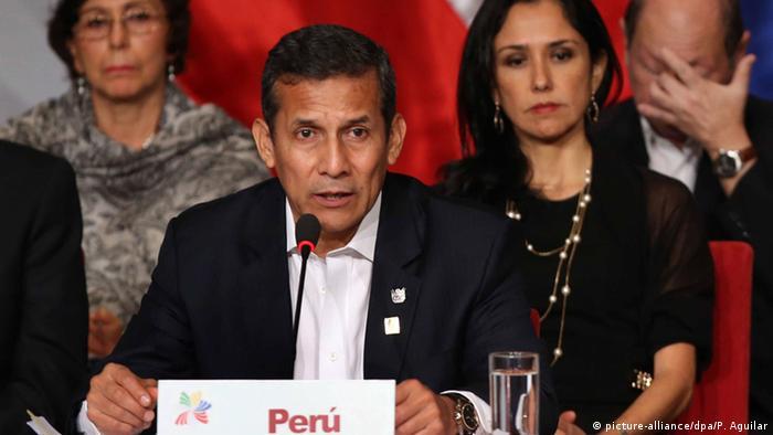 Ollanta Humala Präsident Peru (picture-alliance/dpa/P. Aguilar)