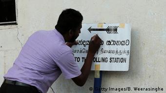 Sri Lanka Parlamentswahlen