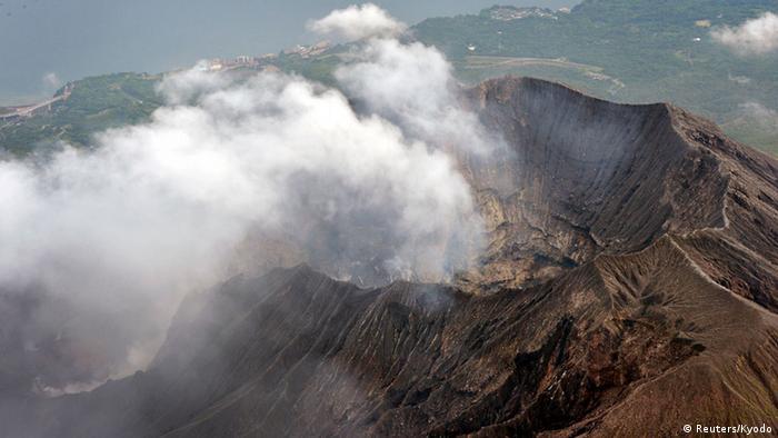 Japan Vulkan Sakurajima erhöhte Aktivität (Reuters/Kyodo)