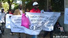 Protest in Lissabon gegen Instabilität in Guinea-Bissau