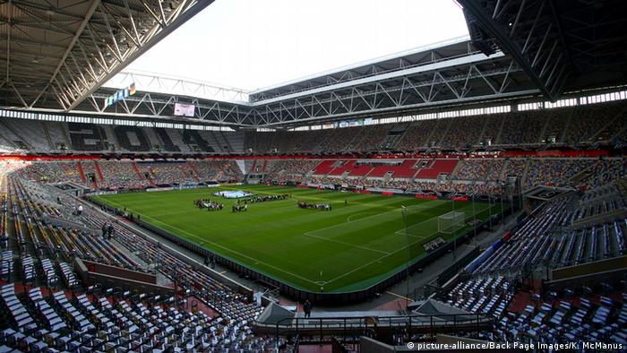 Дюссельдорф. Стадион Esprit Arena