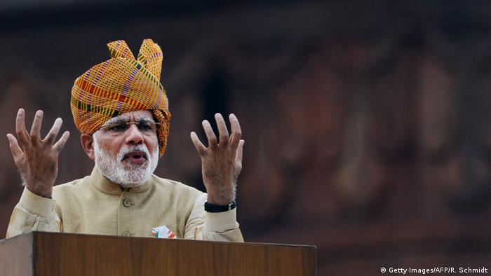 Narendra Modi (Getty Images/AFP/R. Schmidt)