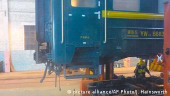 Mongolei, Reise mit der Transmongolischen Eisenbahn