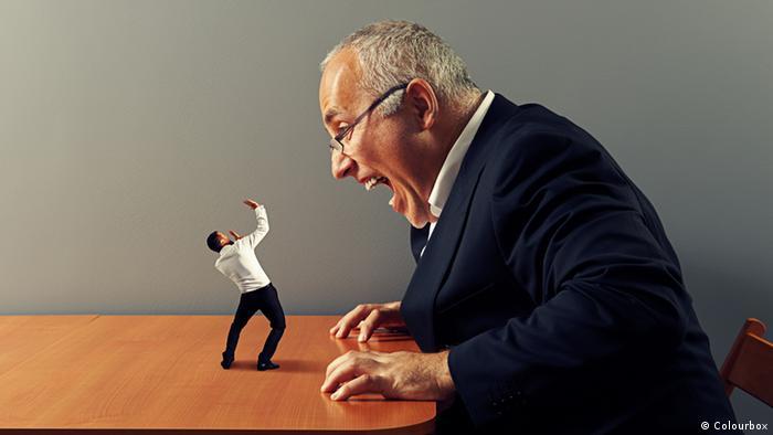 Начальник в гневе