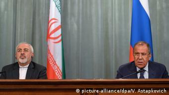 Sergej Lawrow und Mohammed Dschawad Sarif