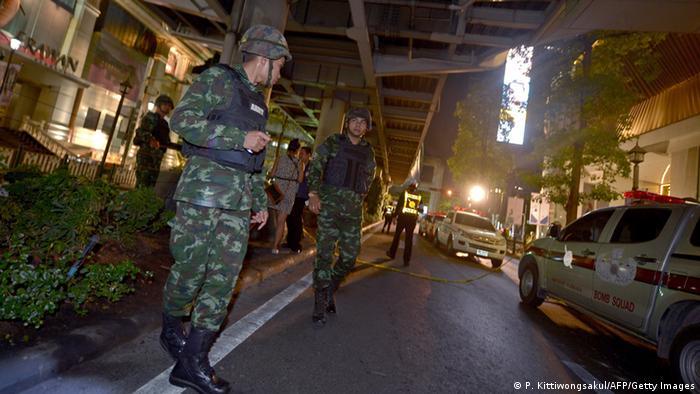 Thailand Explosion in Bangkok