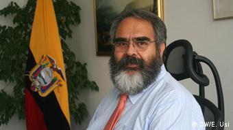 Jorge Jurado, embajador de Ecuador en Alemania.