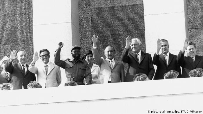 Jahrestag sozialistische Bulgarische Revolution 1980