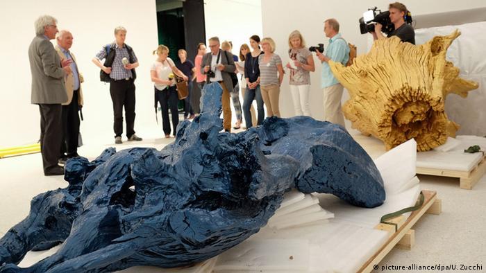 Deutschland Ai Weiwei-Kunstwerk für Grimmwelt Kassel