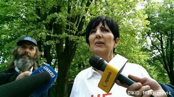 Bosnien und Herzegowina Ranka Misic Gewerkschaterin
