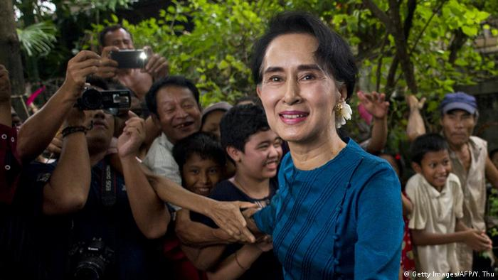 Myanmar - Aung San Suu Kyi (Getty Images/AFP/Y. Thu)