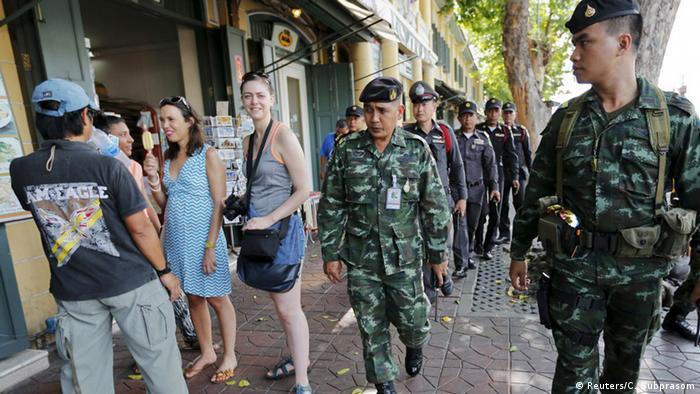 Військові та поліція Таїланду патрулюють у Бангкоку після терактів у серпні 2015 року