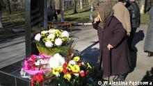 Denkmal für die Opfer von Holodomor Donbass Paraskeva