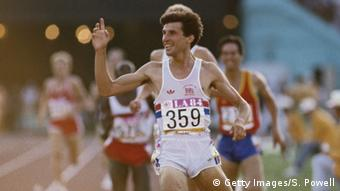 USA Olympische Sommerspiele 1984 Los Angeles Sebastian Coe Olympiasieg 1500m (Foto: Steve Powell/Getty Images)