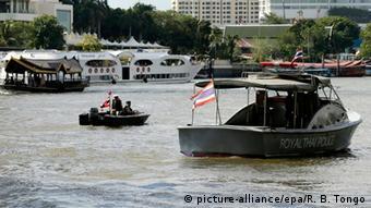 Thailand zweite Bombe in Bangkok Wasserpolizei