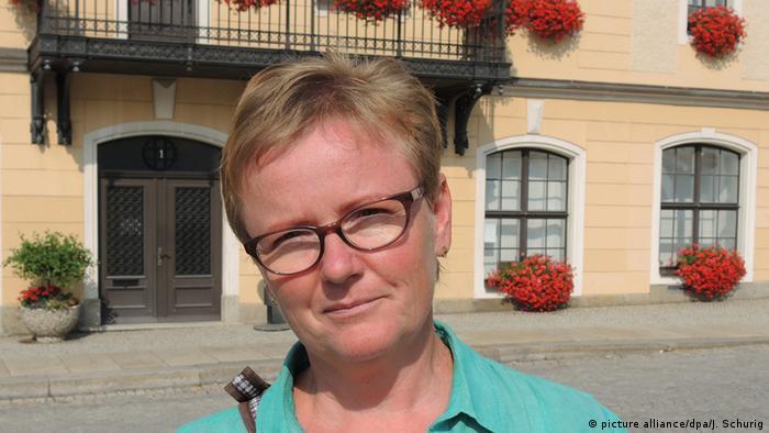 Карола Ланге, председатель инициативы по поддержке беженцев, Саксония