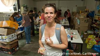 Deutschland Diana Henniges von der Initiative Moabit hilft
