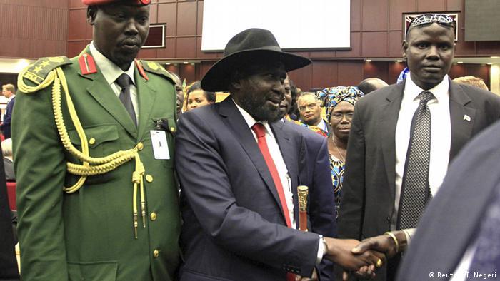 President of South Sudan Salva Kiir