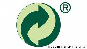 Logo Grüner Punkt (Logo: DSD Holding GmbH & Co KG, Köln).