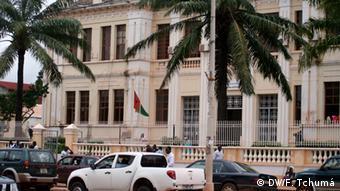 Guinea-Bissau - Justizministerium (DW/F. Tchumá)