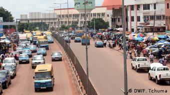 Straße in Bissau