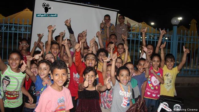 Ägypten Initiative Moving Cinema in Kairo