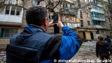 Ukraine OSZE Beobachter in Donezk