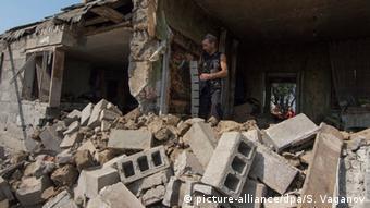 Ukraine Kämpfe in Mariupol
