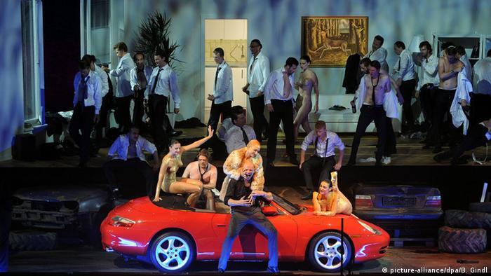 Salzburger Festspiele Die Eroberung von Mexico von Wolfgang Rihm