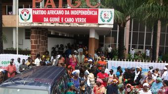 Demonstration in Bissau