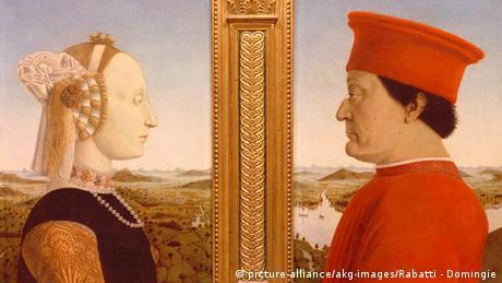 Italien Uffizien Florenz (Bildergalerie) Piero della Francesca