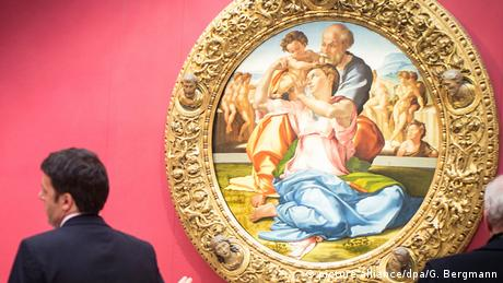 Italien Uffizien Florenz (Bildergalerie) Michelangelo