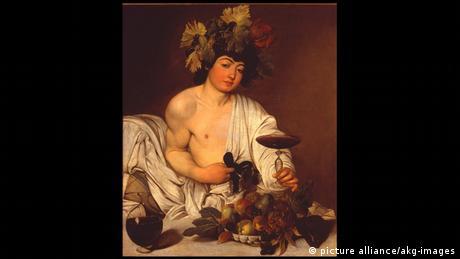 Italien Uffizien Florenz (Bildergalerie) Caravaggio