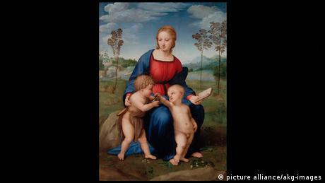 Italien Uffizien Florenz (Bildergalerie) Raffael