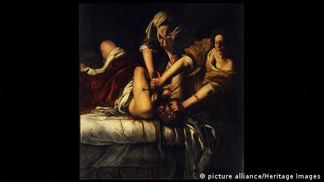 Italien Uffizien Florenz (Bildergalerie) Artemisia Gentileschi