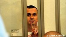 Ukraine Oleh Senzow Regisseur vor dem Gericht in Rostow am Don