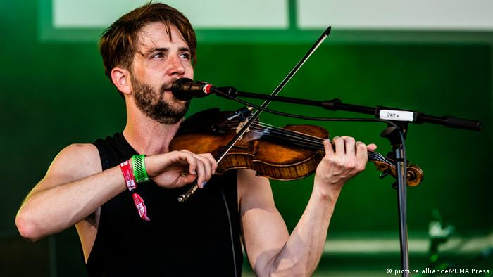 Spanien Musiker Owen Pallett in Barcelona