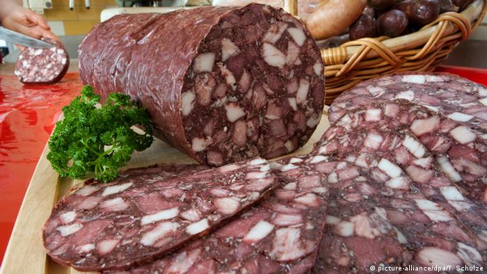 Тюрингская красная колбаса