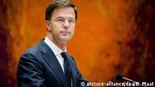 Mark Rutte Niederlande Premierminister