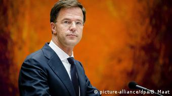 Mark Rutte Niederlande Premierminister (picture-alliance/dpa/B. Maat)