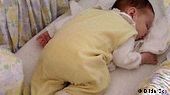 أفضل وضعية نوم لحديثي الولادة