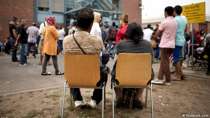Flüchtlinge Berlin Spandau Deutschland