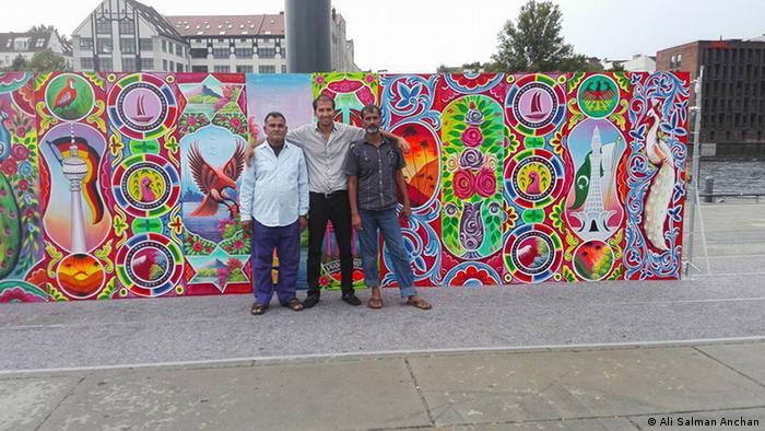 Deutschland Pakistani Truck Art in Berlin EINSCHRÄNKUNG