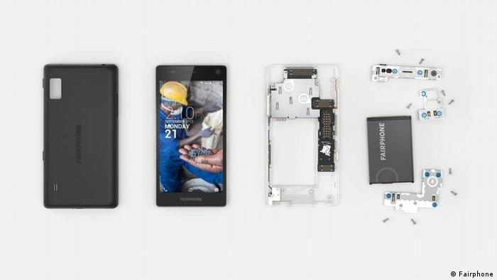 Modules of the Fairphone 2 (Fairphone)