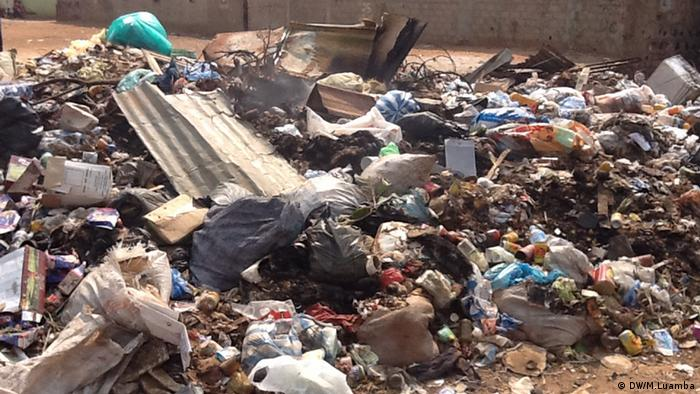 A garbage heap in Angola
